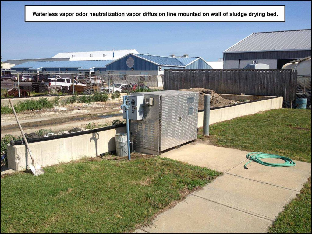 Odor_Control_Waterless_Vapor_Neutralization_on_Sludge_Drying_Bed